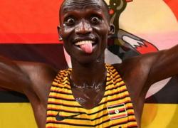 Cheptegei Wins 2-Mile Race in Eugene Diamond...
