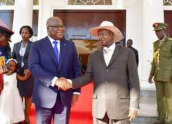 DRC Uganda commit to boost security, trade and...